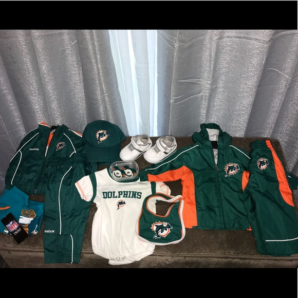 the latest f4494 7c355 6/9 month Miami Dolphin's, Baby Jordan lot/bundle